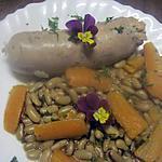 recette Andouillettes aux flageolets.