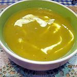 recette Soupe au potiron d'Italie à la crème fraiche.