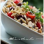 recette ~Salade d'orzo~