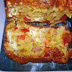 recette Cake italien à la mozzarella et tomates