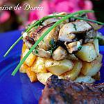 recette Duo de cèpes et pommes de terre sautées