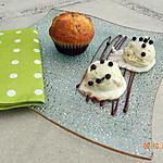 recette Muffins coco, chocolat blanc et chocolat noir