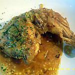 recette cuisses de poulet au safran et aux petits oignons