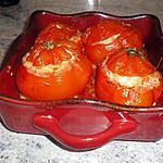 recette Tomates farcies au poulet
