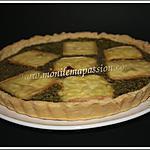 recette Tarte épinards, ricotta, pignons de pin et raclette