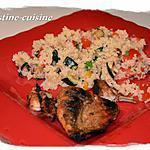 recette Taboulé aux légumes grillés