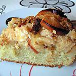 recette Crumble cake aux pommes