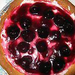 recette Tarte chantilly de griottes