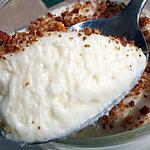 recette Mousses chocolat blanc-coco sur lit de mangue