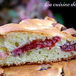 recette Gâteau aux quetsches