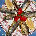 recette Filets de sardines farcis au comté