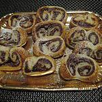 recette Palmiers aux nutella & amande