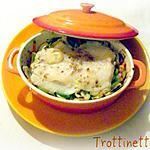 recette Cassolette de pangasius au gingembre