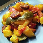 Pommes de terre basquaise