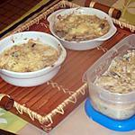 recette coquilles st jacques,sauce corail et bardes;;;