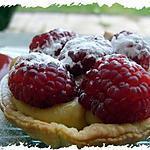 recette Tartelettes framboises & spéculoos
