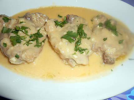 Fricassée de poulet à la toscane 430