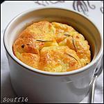 recette Soufflé de potiron, et au cheddar parfumé au paprika.