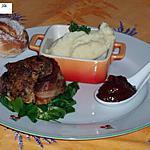 recette Minipains de viande
