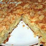 recette Gâteau moelleux aux pommes et amandes