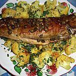 recette Lieu jaune  aux chou fleurs er kari goss