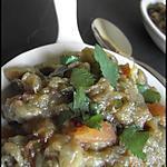 recette Zaalouk (Caviar d'Aubergines à la Marocaine)