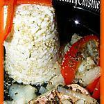 recette Filets de rouget barbet en papilotte et céréales