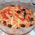 recette Casarecce à la sicilienne
