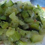 recette Courgettes aux herbes