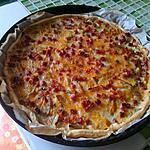 recette Tarte poireaux roquefort