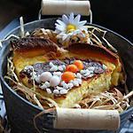 recette Tarte au lait de poule de Pâques