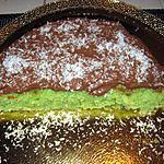 recette Gâteau coco  menthe & nutella