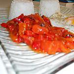recette Fondue de poivron