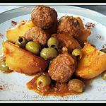 recette tajine de pommes de terre aux olives