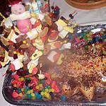 recette gateau    anniversaire  en    bonbons pour      5 ans de ma petite fille   et gateaux au nutella