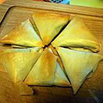 recette Samossa épinard & feta