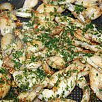 recette Cuisses de grenouilles sautées