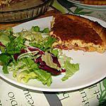 recette Quiche au lard et au cantal