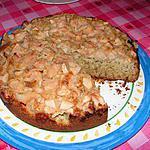 recette gâteau aux pommes et aux graines de pavot