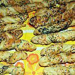 recette Petits feuilletés au sésame et au pavot