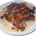 recette Spaghetti Rapido à la Sylvain