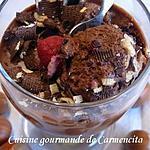 recette Crème chocolat  noir et noisettes