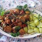 recette Boudins blancs aux légumes.