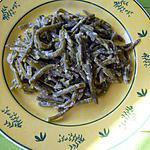 Haricots verts à la crème de parmesan