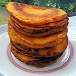 recette Pancakes au potimarron
