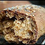 recette ** Déclinaison autour de la Farine multicérèales  Waldkorn : Pain, Croissants, pudding , pizza ....  **