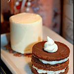 recette Duo de Millefeuille et sa glace à la crème de Calisson