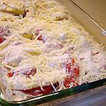 recette Gratin aux pommes de terre et aux la tomates