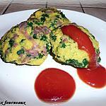 recette Palet de polenta au jambon cru
