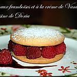 recette Sablés aux framboises et à la crème de Vanille